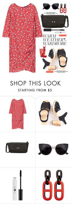 """""""How to Dress for a Heat Wave"""" by paculi ❤ liked on Polyvore featuring MANGO"""
