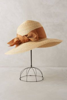 Belle Sun Hat by Yestadt Millinery #anthrofave #anthropologie