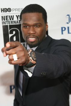 """Curtis """"50 cent"""" Jackson  Honorary Class of '93  (Expelled in 10th grade)"""