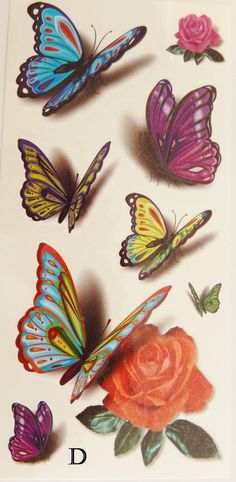Approx. 4 x 8 inch sheets. Price is for one sheet. Apply to Skin, Ceramics, Metal, Glass When ordering multiple temporary tattoos we only charge you once for shipping. Orders must all go to the same a