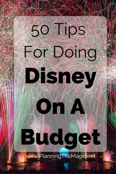 Tips and tricks for doing Disney World on a budget. Disney On A Budget, Disney World Vacation Planning, Disneyland Vacation, Disneyland Tips, Disney Planning, Disney World Trip, Disney Vacations, Vacation Ideas, Vacation Spots