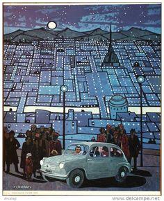 P0101 - FELICE CASORATI: FIAT 600