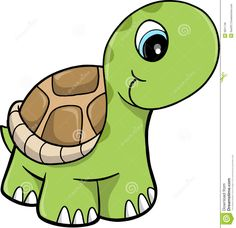 Cute Safari Turtle Vector Illustration - Download From Over 29 Million High Quality Stock Photos, Images, Vectors. Sign up for FREE today. Image: 9631748