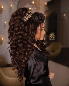 Quince Hairstyles, Formal Hairstyles For Long Hair, Chic Hairstyles, Bride Hairstyles, Bridal Hair Buns, Bridal Hair And Makeup, Hair Up Styles, Medium Hair Styles, Bridal Hair Inspiration
