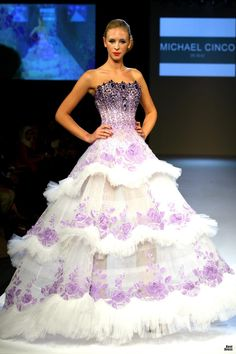 Michael Cinco 2010 absolutely love this dress.
