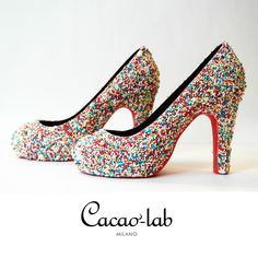 Dazzling chocolate shoes from Cacaolab for Milan Fashion Week
