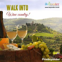 Tuscany is home to a great many number of quality wines. Come, try as many as you can! #GoBeyonder #Wine #Travel