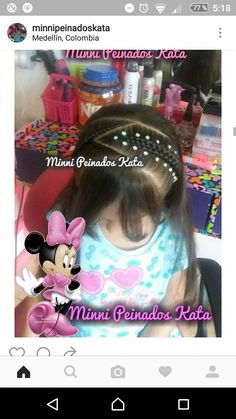 #algunospeinadosparamisniñ@s Art Of Beauty, My Little Girl, Girl Hairstyles, Diana, Braids, Children, Hair Styles, Up Dos, Hairstyles For Natural Hair