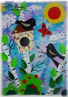 Bird drawing for kids 36 ideas