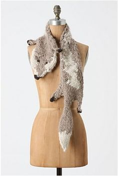 Knitographical: How to wear a dead fox