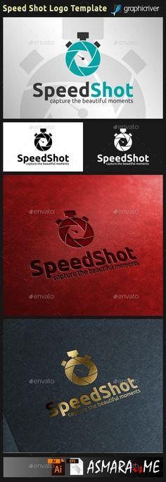 Speed Shot Photography - Lens Camera Logo