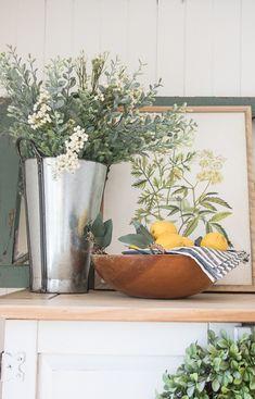 Spring Farmhouse florals