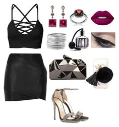 """""""💁🏻🌟✨"""" by giiovannatorres on Polyvore featuring moda, River Island, Jimmy Choo, WithChic, Journee Collection, Lime Crime, Victoria's Secret, Ashlyn'd, Mehron e Avenue"""