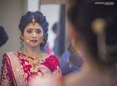 "92 Likes, 2 Comments - Anand Jadhav (@andy_jadhav) on Instagram: ""All Set!! #mirror #mirrorimage #bride #candid #candid moments #candidwedding…"""