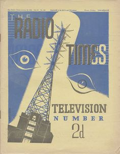 The listings for the first ever day of TV looked VERY different from today's