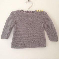 Tuto pull tricot bebe (3,5 MM) par Charlov Blog