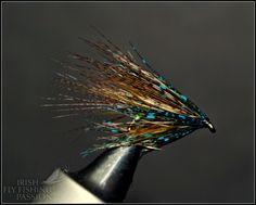 Irish fly fishing passion: Kristof -Irish Pearly and Blue Dabbler .
