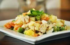 Recette de Salade de légume à vapeur | Plus Belle La Vie