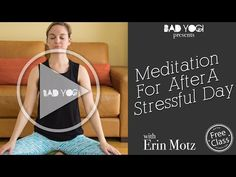 Meditation for After a Stressful workday (Beginner) - YouTube
