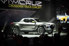 Hyundai's Santa Cruz Crossover Truck Concept unveiled at the North American International Motor Show (NAIAS) in Detroit