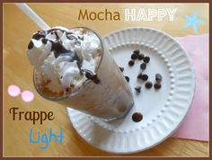 The Better Baker: HUNGRY GIRL'S Mocha Happy Frappe Light
