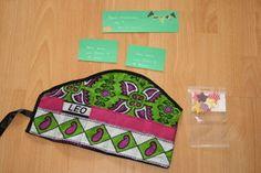 leo pochette a compartiments-tissu africain wax- collection charlotteblabla