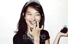 Shin Min Ah in Allure Korea