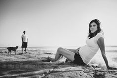 san diego maternity session at the beach