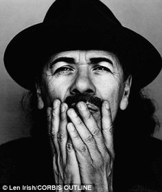 Born in Mexico in 1947, guitarist Carlos Santana became famous in the late Sixties after his band Santana gave a memorable performance at the Woodstock festival.