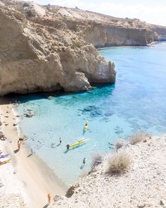 Milos Beaches. Tsigrado, Milos, Greece. (1/3)
