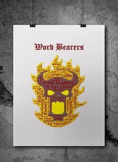 Word Bearers Heresy Warhammer 40K by ZsaMoDesign