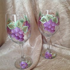 Grape wine Glasses