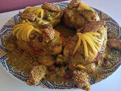 roasted chicken tajin with lemon