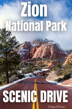 Scenic Drive in Zion National Park Canada National Parks, National Parks Map, Zion National Park, Zion Lodge, Riverside Walk, Weekend Camping Trip, Zion Canyon, Stunning View, Nice View