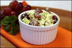 Scoop Your Salad! (Two New Recipes) Curry Chicken Salad