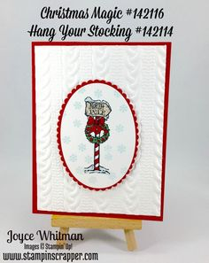 Christmas Lamp Post by Cookielady01 - Cards and Paper Crafts at Splitcoaststampers
