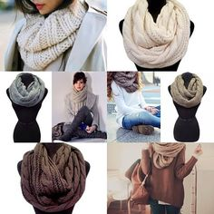 Chunky Scarves <3 #swoonboutique