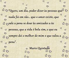 Por Dentro... em Rosa: Frases e Pensamentos : Mário Quintana