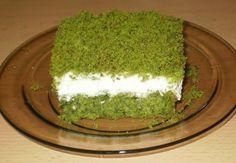 Moje pyszne, łatwe i sprawdzone przepisy :-) : Ciasto leśny mech- na dużą blaszkę