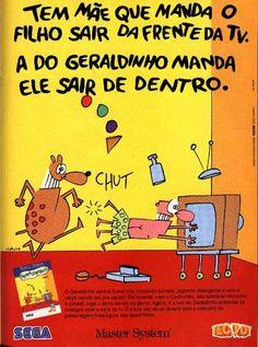 Geraldinho no Master System.