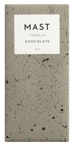 Vanilla Bar Mast Brothers chocolate bar packaging