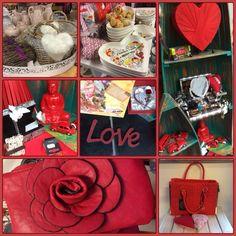 Romantiek, rode rozen en een heleboel hartjes. Het is bijna Valentijn, de tijd om je geliefde eens liefdevol te verrassen! www.zus-en-zo.nl