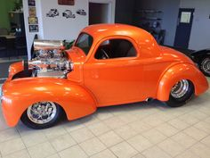 41 Willys-ever see one of these with a small engine!