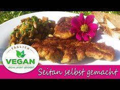 SEITAN selbst gemacht Seitan, Beef, Chicken, Videos, Youtube, Food, Vegane Rezepte, Meat, Essen