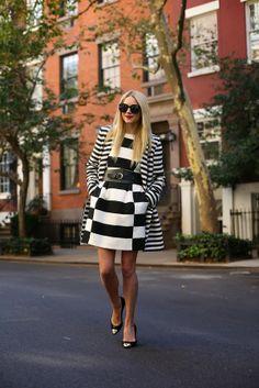 #fashion #fashionista @Blair Eadie // Atlantic Pacific Atlantic-Pacific: seeing stripes