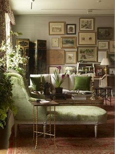 design indulgence: GREEN AND GRAY