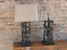 Lamp - Crafted from Wrenches