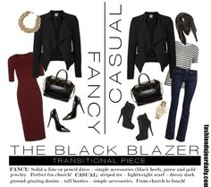 how to style a black blazaer - what to wear on a busy Sunday!