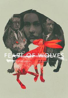 Feast of Wolves #illustration author: Patryk Hardziej Fajne połączenie wielu planów.