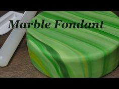Marble Fondant Cake Tutorial | marmorierter Fondant | How to make - YouTube